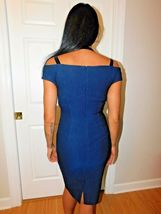 YIGAL AZROUEL OFF SHOULDER COCKTAIL  DRESS SIZE 14 NEW $990 image 6