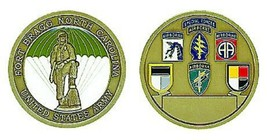 ARMY FORT BRAGG AIRBORNE SPECIAL FORCES ALL UNITS CHALLENGE COIN - $17.09