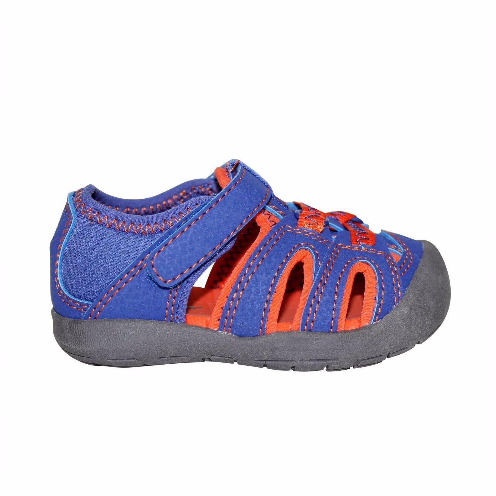 Garanimals Toddler Boys Sport Sandals Blue & Orange Size 3 New