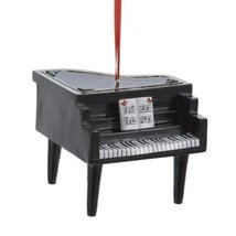"""3"""" Resin Grand Piano Ornament - $15.00"""