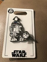 Disney Parks Star Wars R2D2 and Porg Swivel Pin - $14.92