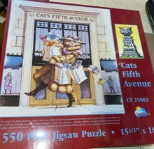 Vintage  CATS FIFTH AVENUE 550 Piece   Puzzle (1996)  Sealed New Old Stock  bb - $25.22