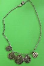 """16"""" Copper Tone Filligree Medallions Necklace - Liz & Co. - $9.49"""