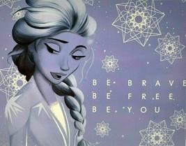 Disney Cardinal Frozen 2 500 Piece Jigsaw Puzzle Elsa - Be Brave Be Free... - $9.87