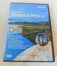Microsoft Streets & Trips 2006 - $20.00