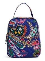 Vera Bradley Quilted Signature Cotton Iconic Lunch Bunch Bag, Romantic Paisley image 3