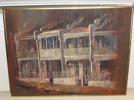 ORIGINAL OIL PALETTE PAINTING ON BOARD SIGNED BY ARTIST 1980 - $1,000.00