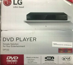 LG - DP132 - DVD Player with USB Direct Recording - $59.35