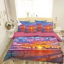 3D Orange Dusk 229 Bed Pillowcases Quilt Duvet Single Queen King US Summer - $102.84+
