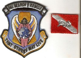 Philippines Air Force PAF 505th Search & Rescue Squadron & SCUBA Qualified Patch - $16.99