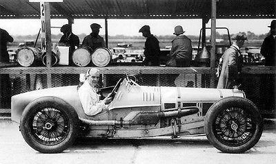 Primary image for 1926 Delage 155B 1500 - Winner at First British Grand Prix - Photo Poster