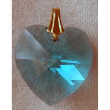 18mm Crystal Heart Hair Jewel image 6