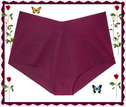 XL XLarge Wine NO SHOW Seamless Victorias Secret High Waist Brief  Panti... - $10.99
