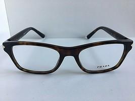 New PRADA VPR 1S6 2AU-1O1 52mm Tortoise Cats Eye Women's Eyeglasses Fram... - $189.99