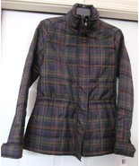 RALPH LAUREN Plaid Jacket Coat Poly Fill Zipper Multi Color NEW ORIG $209 - $99.95