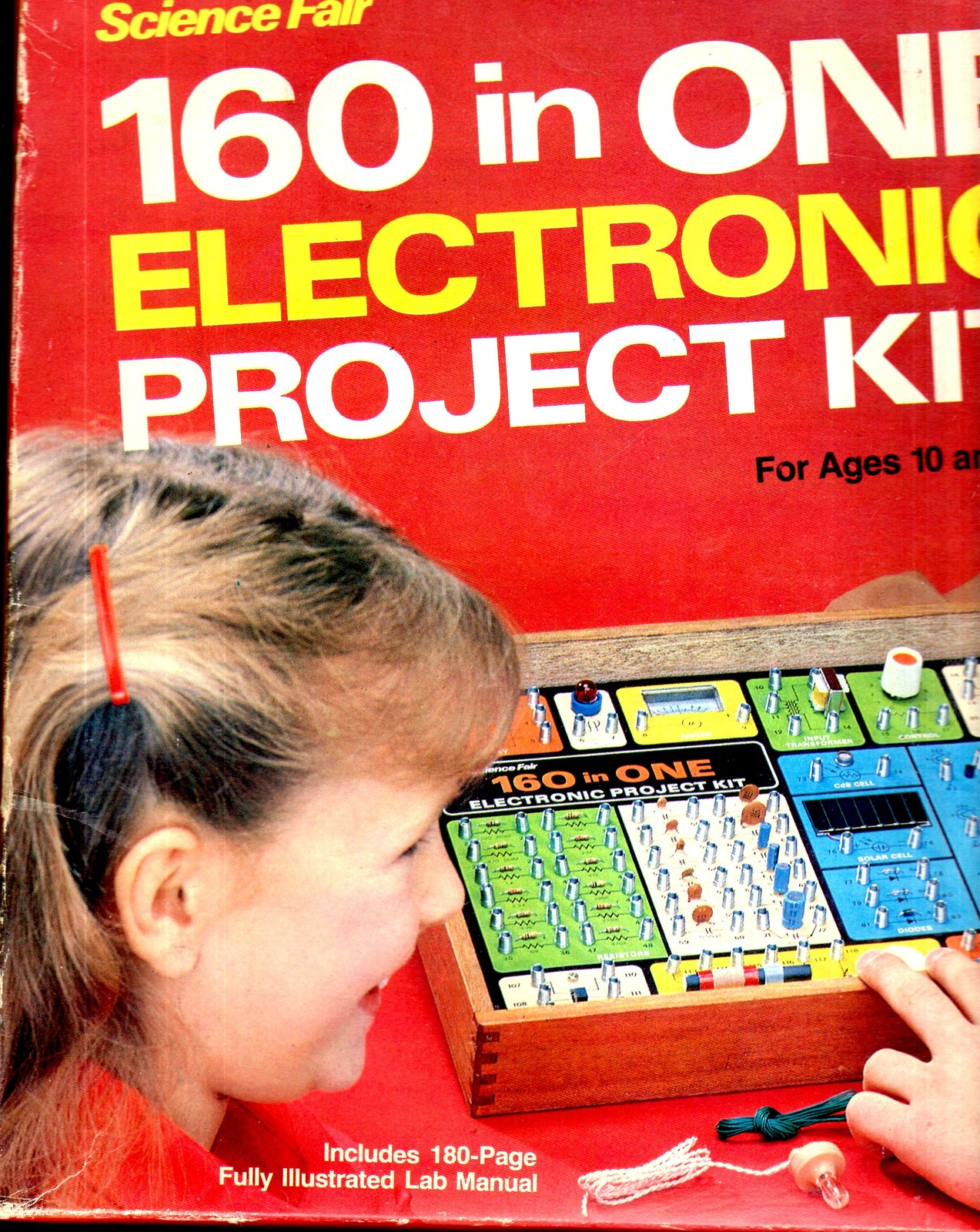 Science Fair 160 in One Electronic Project Kit