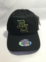 NCAA Baylor Bears Youth Cap, Unisex, Rookie Adjustable Size, Black  - $14.54