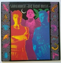 Shriekback Big Night Music Vinyl LP Record Album Electronic Synth-Pop 1986 - £9.95 GBP