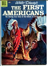 First Americans #1843 1957-Dell-Walt Disney-Jesse Marsh-Indians-VF+ - $121.68