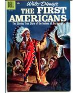 First Americans #1843 1957-Dell-Walt Disney-Jesse Marsh-Indians-VF+ - $121.68