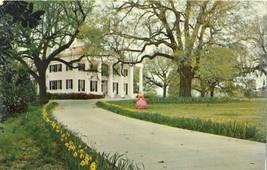 D'Evereux Natchez MS Mississippi Colonial Architecture Chrome Posted Pos... - $7.87