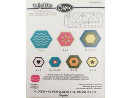 Sizzix Triplit's Hexagon Dies #659630 image 1
