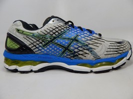 Asics Gel Nimbus 17 Size US 12.5 M (D) EU 47 Men's Running Shoes Silver T507N