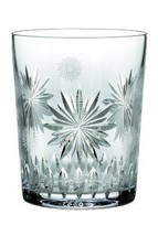 Waterford Crystal Snowflake Wishes for Courage Double Old Fashioned Glass - $69.29