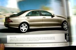 2005 Mercedes S 55 Amg S 600 S 500 S430 Sales Brochure New Original - $34.64