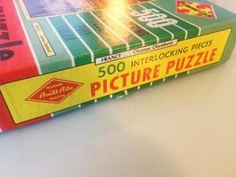 "Vintage 50s Warren Diamond Lock Picture Puzzle- #500 ""FRANCE: Chateau Chambord""  image 5"