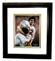 Doug Flutie signed Boston College 11X14 Photo Dual Sig In Arms Custom Fr... - $94.95