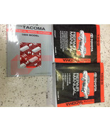 1999 Toyota TACOMA TRUCK Service Shop Repair Manual Set FACTORY W Wiring... - $296.99