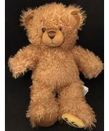 """Build A Bear Life Is Good Brown 15"""" Plush Teddy Bear Shaggy Lovey Stuffe... - $9.99"""