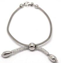 925 Sterling Silver Cubic Zirconia Bracelet image 1