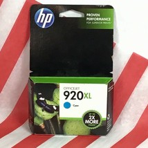 for HP 920 Officejet XL 920XL Ink Replacement Cartridge Cyan EXP 11/14 BX77 - $8.24