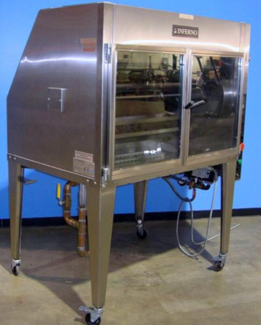 Hardt Inferno 43 Commercial Rotisserie Chicken Oven - $3,000.00