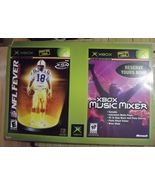 2003 Gamestop NFL Fever 2004 and Xbox Music Mixer Prerelease Display - $75.00