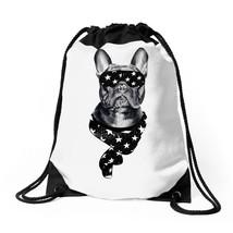 Bull Dog American Falg Drawstring Bags - $31.00