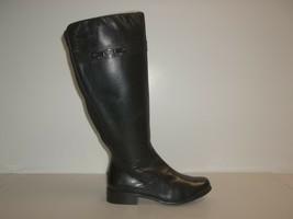 VANELi Van Eli Size 6.5 W Wide RAMEX Black Leather Boots New Womens Shoes - $197.01