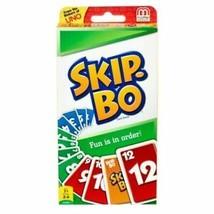 Mattel 42050 Skip-Bo Card Game - 2 to 6 Players New, box opened - $6.65