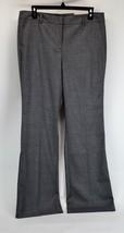 ANN TAYLOR PETITES NWT Women's Gray Signature Trouser Dress Pants Size 1... - $23.36