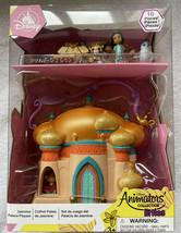 DISNEY ANIMATORS LITTLES COLLECTION Jasmine Palace Playset 10pcs Surpris... - $40.99