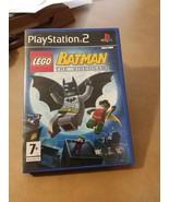 LEGO Batman: The Videogame (Sony PlayStation 2, 2008) - $3.30