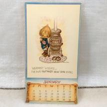 Betsey Clark - 1970 January Calendar Page Unused Postcard, Published by Hallmark image 1