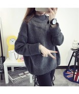 2018 New Hot Women Plus Size Tops Loose Autumn Winter Bottoming Pullover... - $33.60