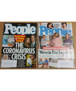 People Magazine LOT (Mar 30 2020, Apr 6 2020) Coronavirus Crisis - $5.50