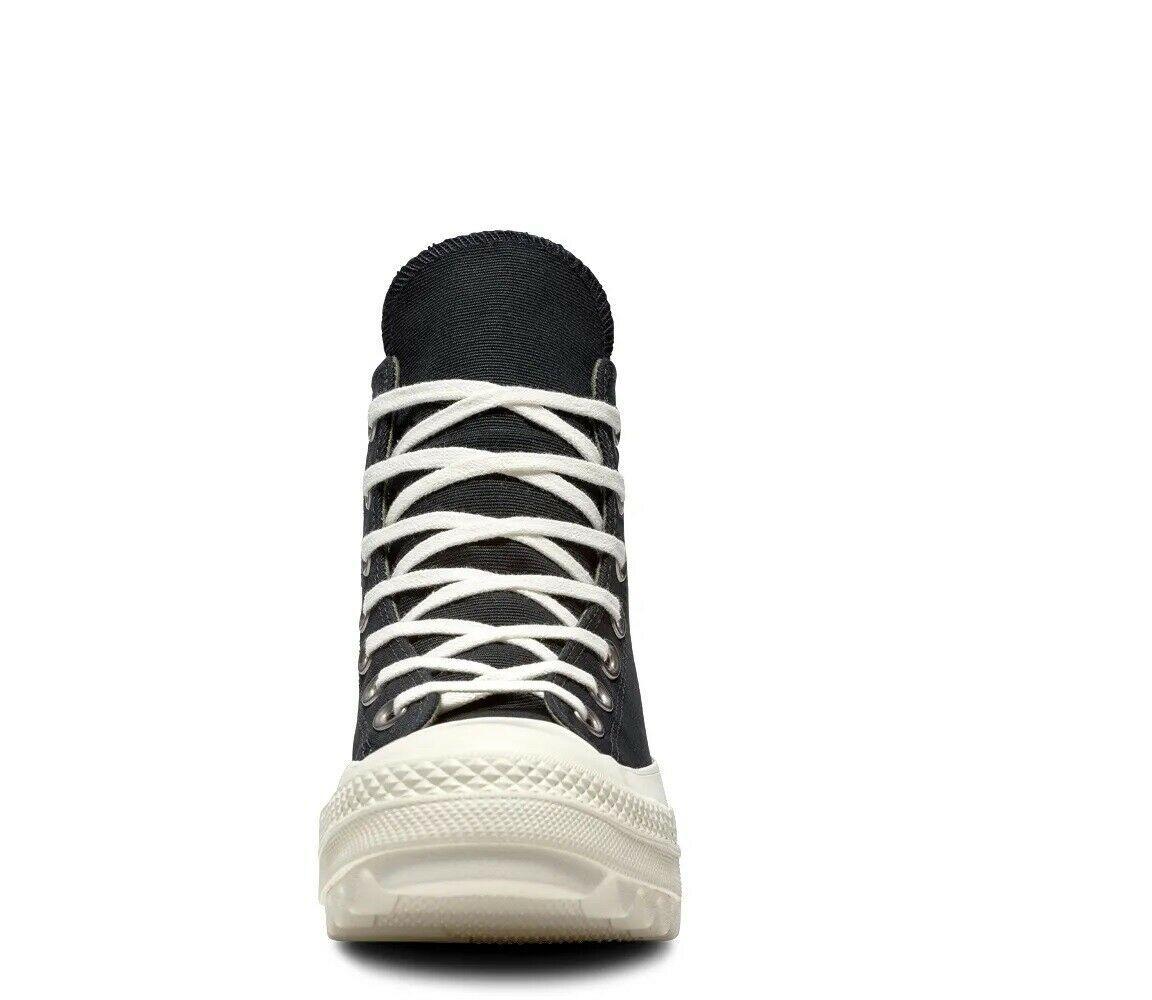 Women's Converse Chuck Taylor All Star Lift Ripple Hi, 561671C Multi Sizes Black image 7