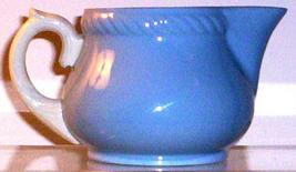 HOMER LAUGHLIN KRAFT BLUE CREAMER - $14.95