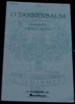 O Tannenbaum, Gregg Smith, A Cappella,  1978  OLD SHEET MUSIC - VGC - $5.93