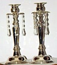 Milkasa Candle Stick Holders in blue box  AA19-1582 Vintage Pair image 2